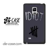 Idiot 5sos Hater For Samsung Galaxy Note Edge Case Phone Case Gift Present