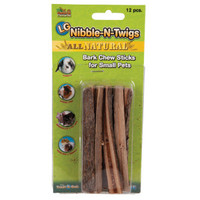 All Living Things® Nibble-N-Twigs Small Animal Bark Chew Stick | Treats | PetSmart