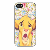 Lion Simba Pride Floral iPhone 5 Case