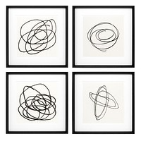 Art Prints | Eichholtz Black & White Collection ll (set of 4)