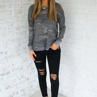 Z Supply Emerson Camo Thermal Top