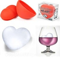 Cold Cold Heart 3D Ice Mold