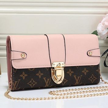 Women Fashion Leather Chain Satchel Crossbody