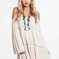 Boho Babe Dress - Cream