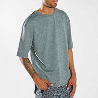 Without Walls Hi/Low Reflective Crew Tee - Urban Outfitters