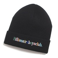 Alphabet Skully Beanie Black