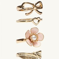 Daisy Stacking Rings