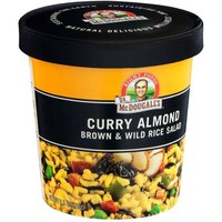 Dr. McDougall's Right Foods Curry Almond Brown & Wild Rice Salad, 2.5 oz, (Pack of 6) - Walmart.com