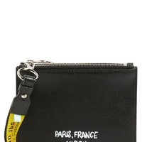 Off-White Virgil Was Here Set of 2 Zip Pouches | Nordstrom