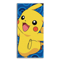 Pokemon Day Off  Beach Towels (28in x 58in)