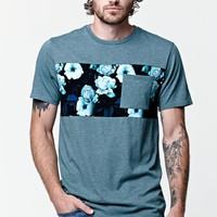 On The Byas Caven Chest Panel Pocket T-Shirt - Mens Tee - Green