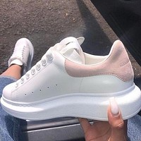 Alexander McQueen hot sale platform sneakers casual shoes