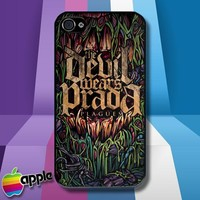 The Devil Wears Prada Plagues Rock Band iPhone 4 or iPhone 4s Case Cover