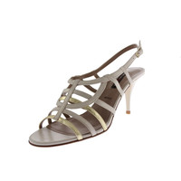 Bruno Magli Womens Amelie Leather Slingback Evening Sandals
