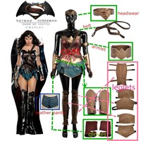Batman Dark Knight gift Christmas Movie Batman v Superman:Dawn of Justice Wonder Woman Cosplay Costume For Adult Women Fashion Outfit Clothing Carnival Christmas AT_71_6