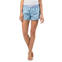 Women's Skipjack Lounge Short in Sky Blue by Southern Tide