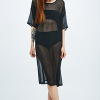 Sparkle & Fade Creased Shift Dress in Black - Urban Outfitters
