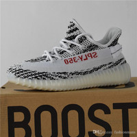 2017 Adidas Originals Yeezy 350 Boost V2 Zebra Releases Running Shoes Sneakers Sply Yeezy Boost 350 V2 Kanye West Discount Cheap With Box