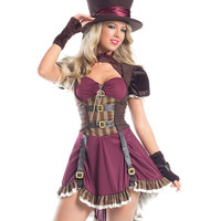 """Steam Punk Mad Hatter"" Costume"