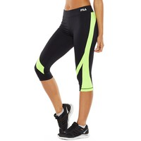 Colorblock Performance Skimmer Capris