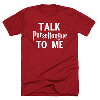 Talk Parseltongue to me,Cute online T Shirts,