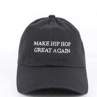 The Great Again Dad Hat in Black