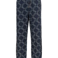 Denim Pattern Logo Sweatpants by Valentino