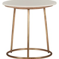 Classic Home Ashlynn Marble Top Side Table | Nordstrom