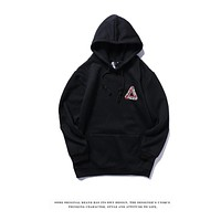 Mens PALACE Fashion Hoodie Hooded Sweatshirt Black