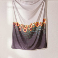 Chelsea Victoria For Deny Sunflower Fields Tapestry   Urban Outfitters