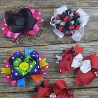 Bows - Layered {See pic for colors}