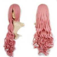 """Cool2day 40"""" Long Anime Costume Curly Synthetic Hair Cosplay Party Wig (Model: Jf010124)"""