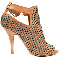 Givenchy Grommet Booties Tan Leather 5 | Pre-Owned Used