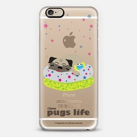 SLEEPY PUG iPhone 6 case by HON HON SHOP | Casetify