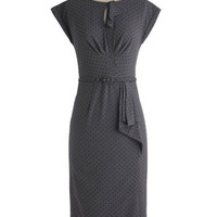 Once and For All Dress in Charcoal