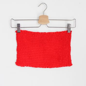 Tulum Smock Tube Top - More Colors