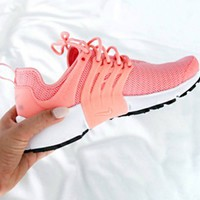 NIKE Air Presto Women Fashion Running Sport Casual Shoes Sneakers Pink