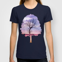 ATMOSPHERIC TREE | Early Spring T-shirt by 📷 VIAINA