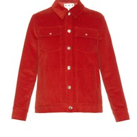 Point-collar corduroy jacket | Trademark | MATCHESFASHION.COM US