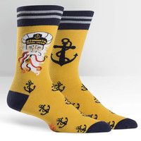 Sea Captain Crew Length Socks