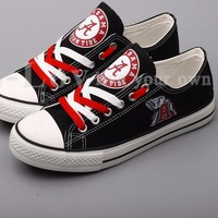 Alabama Crimson Tide Canvas Shoes