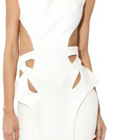 white cut out dress - Google Search