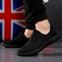 New yeezy Unisex Athletic Men Sneakers Summer Sandals Breathable Mesh Sport Shoes For Outdoor Light women Running Shoes 39-44