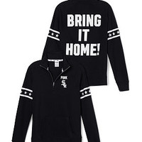 Chicago White Sox Half-Zip Pullover - PINK - Victoria's Secret