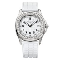 Patek Philippe Ladies Aquanaut 35mm Stainless Steel Watch on Rubber Strap 5067A-024