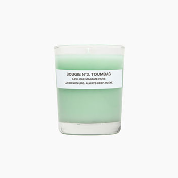 Toumbac Candle by A.P.C.