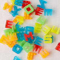 LED Peg Message Board Rainbow Letter Expansion Pack | Urban Outfitters