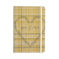 """Robin Dickinson """"You & Me"""" Yellow Everything Notebook"""