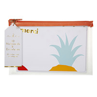 Merci Pineapple Note Cards