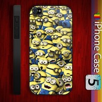 Minions Despicable me Design for iPhone 4/4s and iPhone 5 Case
